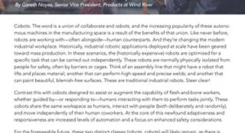 Collaborative Efforts, Universal Gains: The Future of Robots in the Industrial Space
