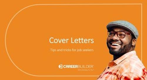 Cover Letter Tips from CareerBuilder