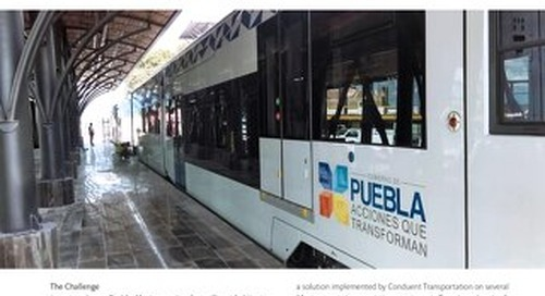Case Study: The City of Puebla is Taking Public Transportation in a New Direction