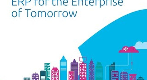 ERP for the Enterprise of Tomorrow