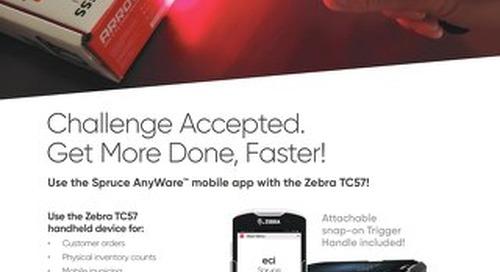 Spruce Mobility Zebra TC56 Solution Brief