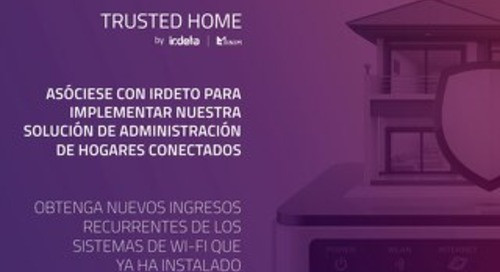Partner Brochure: Trusted Home - Spanish