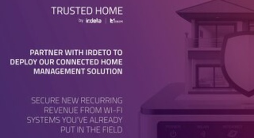 Partner Brochure: Trusted Home