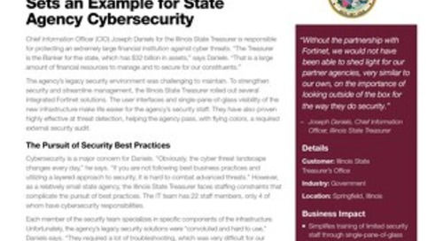 Illinois State Treasurer's Office Sets an Example for State Agency Cybersecurity