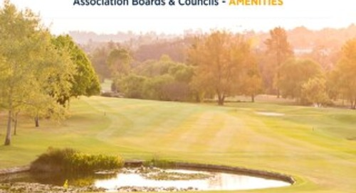 COVID-19: Considerations for Community Association Boards & Councils - AMENITIES