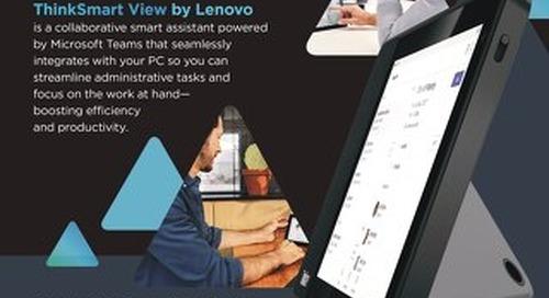 Thinksmart View by Lenovo