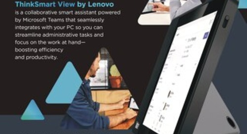 Thinksmart View by Lenovo