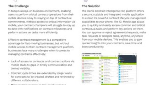 ICM Mobile Application