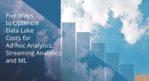 Five Ways to Optimize Big Data Processing Costs in the Cloud