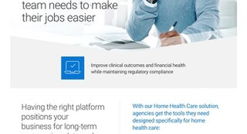 Home Health Care Solution Overview