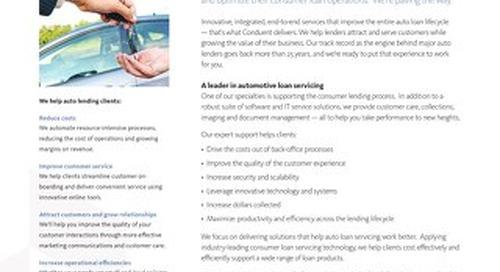 Automotive Lending Solutions
