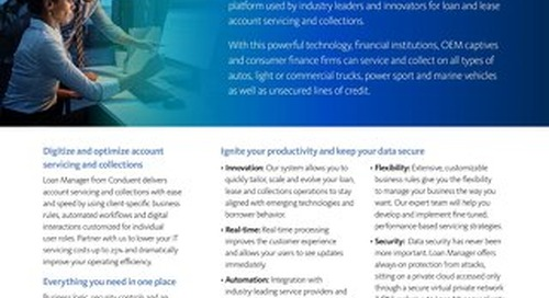 Loan Manager Solutions
