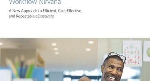 How to Achieve Discovery Workflow Nirvana