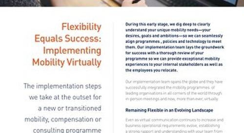 Graebel Virtual Implementation Solution Sheet