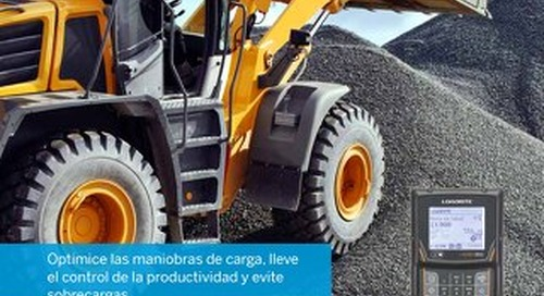 Trimble LOADRITE L-Series Brochure - Spanish