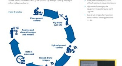 Trimble Stratus Drone Data Platform for Aggregates Operations Datasheet - English
