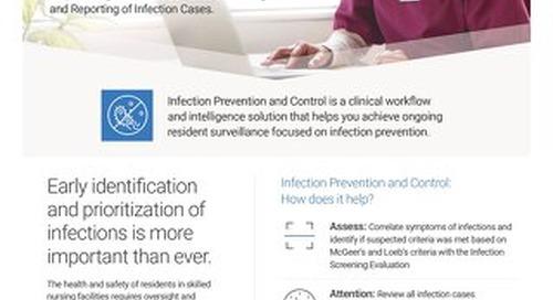 Infection Prevention & Control for Skilled Nursing: Solution Sheet