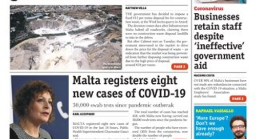 MaltaToday 29 April 2020 MIDWEEK