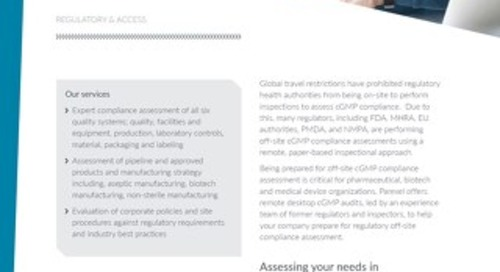Remote Desktop cGMP Audits Factsheet