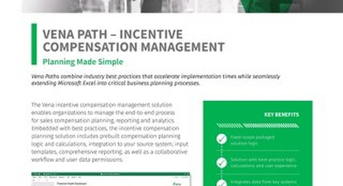 Vena Paths - Incentive CompensationManagement