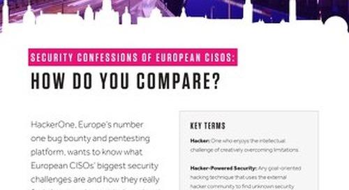 Security Confessions of European CISOs