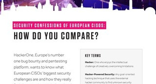 Security Confessions of European CISOs