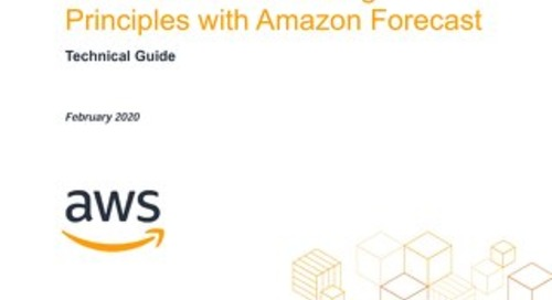 Time Series Forecasting Principles Amazon Forecast