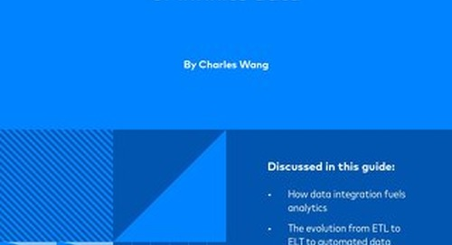 The Essential Guide to Data Integration