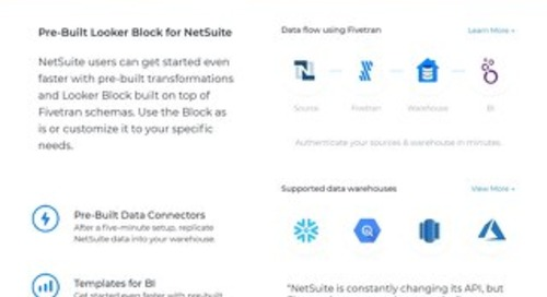 Easily Analyze NetSuite Data in Looker