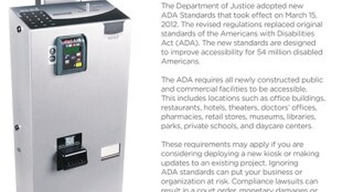 RSX1000 ADA Compliance Overview