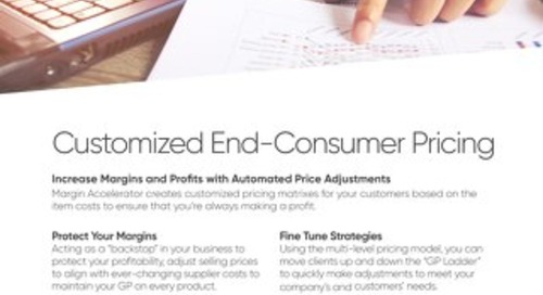 Customized End-Consumer Pricing