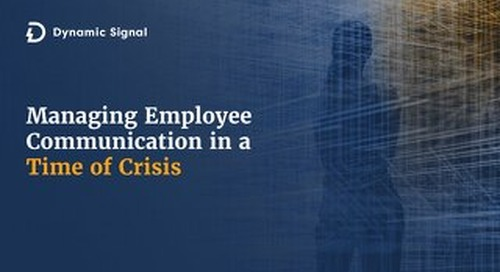 Managing Employee Communication in a Time of Crisis