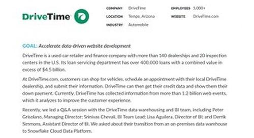 DriveTime: Meet the Customer Q&A