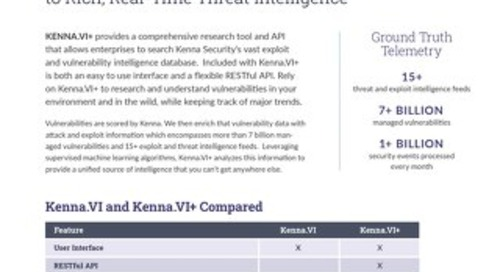 Kenna.VI+ Datasheet