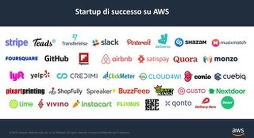 Startup di successo su AWS