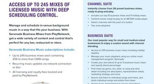 Business Mixes