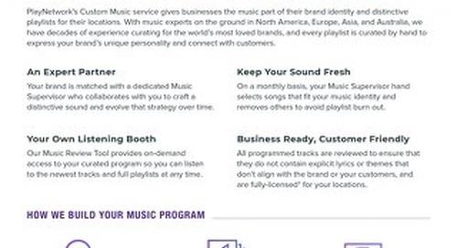 Custom Music Service