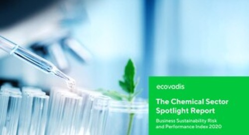 The Chemical Sector Spotlight Report