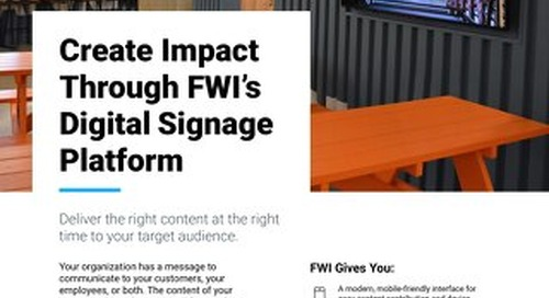 See the Different Features Included in FWI Pro and FWI Enterprise