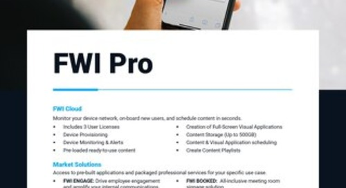 Here's what's included in the FWI Pro Pricing Package