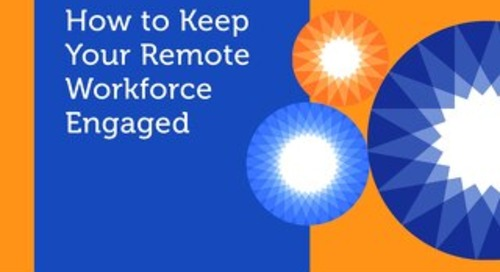 eBook: How to Keep Your Remote Workforce Engaged