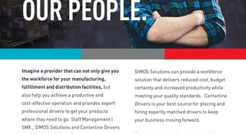 Your Products, Our People Info Sheet