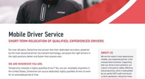 Centerline Mobile Service - Info sheet