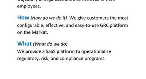 LogicGate's Voice of the Customer Program