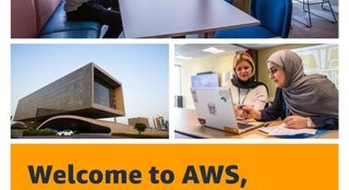 Welcome to AWS, Bahrain