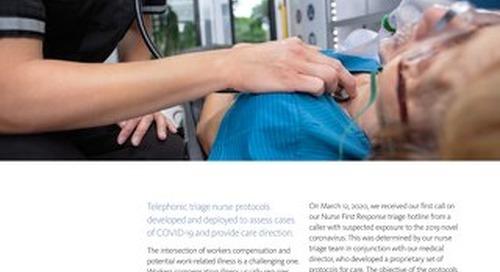 Conduent's Nurse First Response unit prepares rapid COVID-19 response