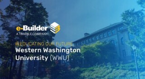 Western Washington University Implements Capital Program Controls with e-Builder