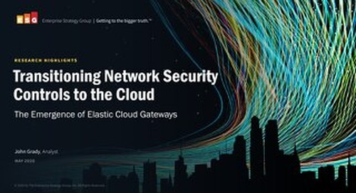 Transitioning Network Security Controls to the Cloud