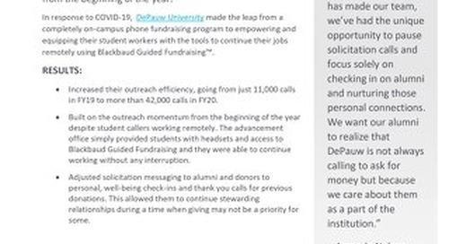 Customer Story: DePauw University