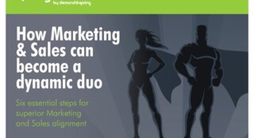 How Marketing & Sales can Become a Dynamic Duo